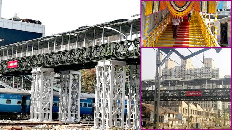 Goyal inaugurates Elphinstone FOB in Mumbai