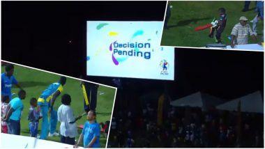 Caribbean Premier League T20 Match: Third Umpire Signals