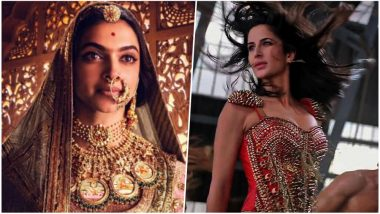 Deepika Padukone's Padmaavat Beats Katrina Kaif's Dhoom 3 Box Office Collection, Still Way Behind Tiger Zinda Hai in Highest Grossing Movies List!