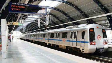 Navi Mumbai Metro Rail: Trial Run Successful on 850-Metre Stretch Near Taloja Depot