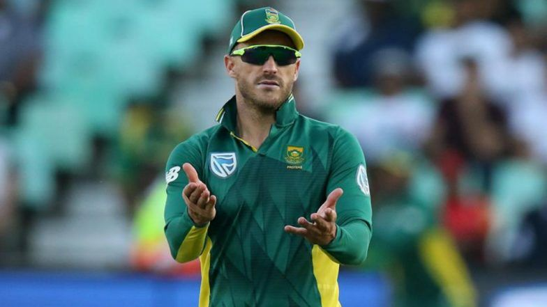 South Africa Skipper Faf Du Plessis Hints at Retirement From T20I Post T20 World Cup 2020