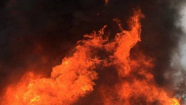 Fire Breaks Out in AC Plant of Doordarshan Bhawan in Delhi; 4 Fire Tenders At Spot