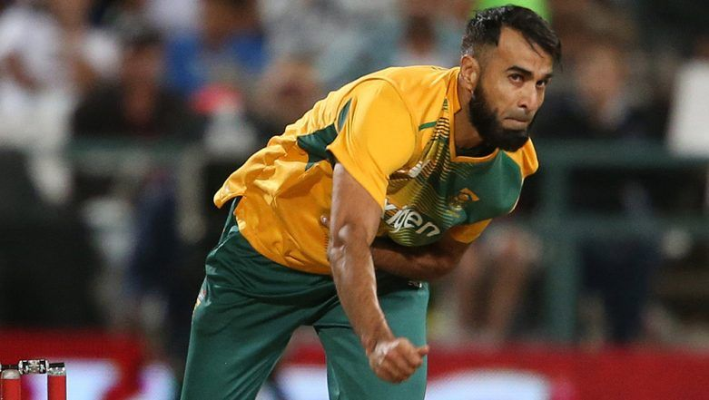Imran Tahir to Quit ODI Cricket After ICC Cricket World Cup 2019