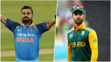 India vs South Africa 3rd T20I 2018 Preview: Virat Kohli-led Team to Take on Resurgent Proteas in the Final Clash at Centurion