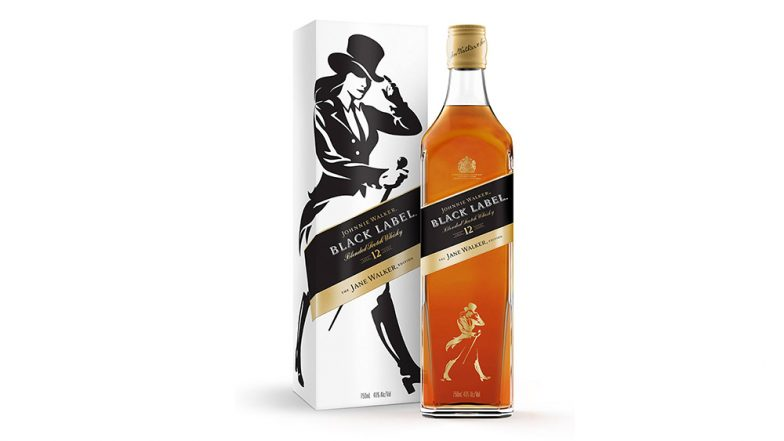 Diageo launches 'Jane Walker': Limited Edition of Johnnie Walker Whiskey to Promote Gender Equality
