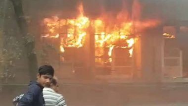 Baroda: Former MS University student, once at center of obscenity row over paintings, sets university head office on fire