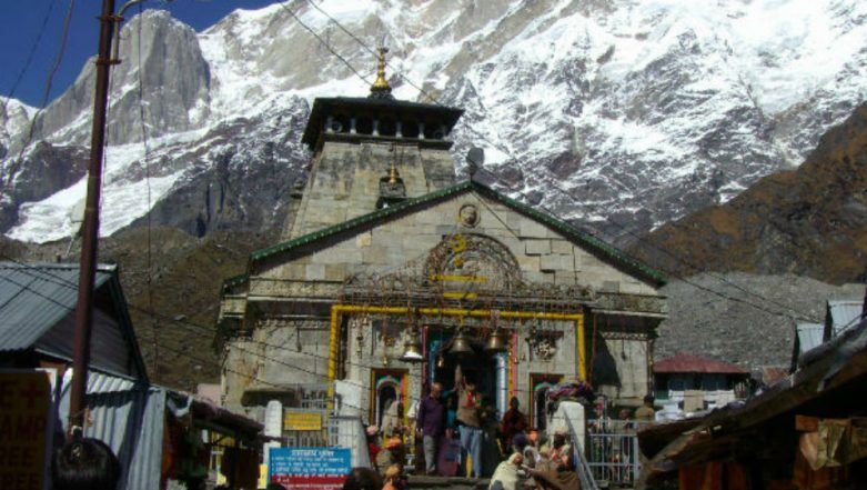 Kedarnath Temple Opens For Devotees!High-Tech Lord Shiva Laser Show to Greet Pilgrims