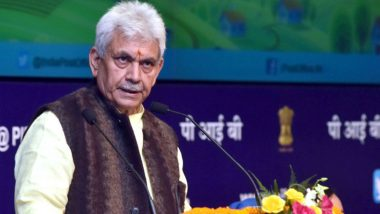 Manoj Sinha Announces Rs 1,350 Cr Economic Package for Jammu and Kashmir, 50% Discount for a Year in Electricity and Water Bills; Check Highlights of the Package