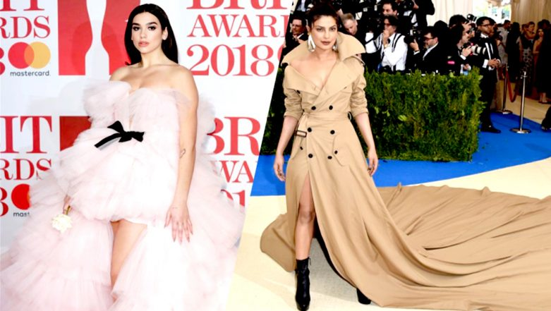 Dua Lipa's Gown at Brits Awards 2018 was a Total Knockout: Most Extravagant Outfits Worn by Celebrities at Red Carpet