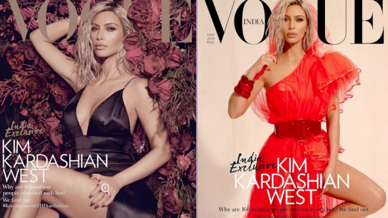 Kim Kardashian West on Vogue India Cover: Smoking Hot Pictures From Magazine Photo Shoot