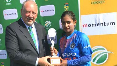 India Women vs South Africa Women First T20, 2018: Mithali Raj's Unbeaten Half Century Helps IND Beat SA by 7 Wickets