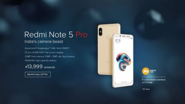 Redmi Note 5 Pro Launch: Price in India, How to Buy The New Xiaomi Mobile Phone Online on FlipKart