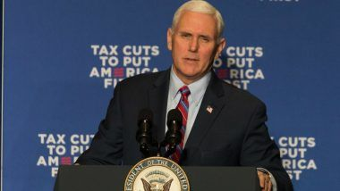 US Vice President Mike Pence's Airplane Returns to Airport in Manchester After Hitting Bird on Takeoff