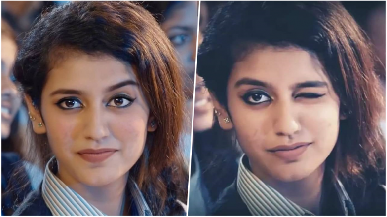 Image result for Priya Prakash Romantic Eye Blink Video Getting Viral