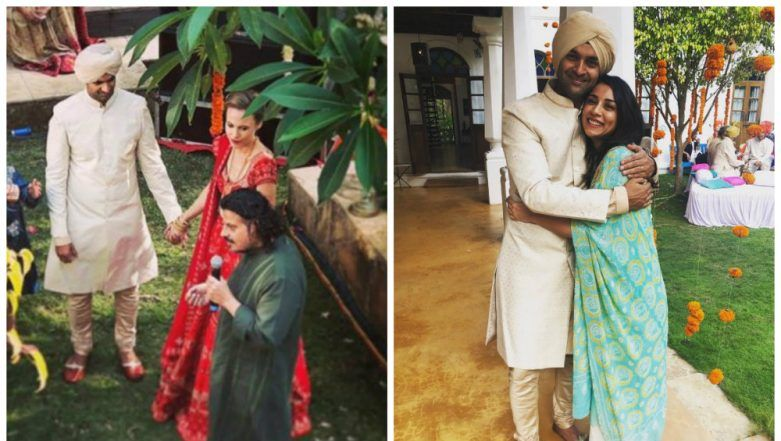 Rock On Actor Purab Kohli Gets Married to British Girlfriend Lucy Payton in Goa- View Pics