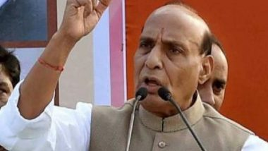 Pakistan Will Soon Disintegrate Into 'Pieces' if it Doesn't Stop Supporting Terrorism, Says India's Defence Minister Rajnath Singh (Watch Video)