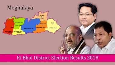 Meghalaya – Ri Bhoi District Election Results 2018: Who is Winning From Umsning, Nongpoh, Umroi, Jirang & Mawhati Assembly Constituencies?