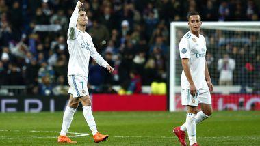Real Madrid Defeats Paris Saint-Germain: Cristiano Ronaldo Scores a Brace in 3-1 Victory in UEFA Champions League 2017-18