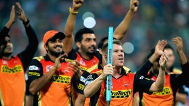 SunRisers Hyderabad Team in Indian Premier League 2018: List of SRH Players for VIVO IPL 11
