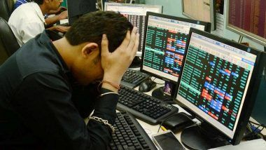 Sensex Falls 354 Points; HDFC Twins Succumb to Sell-Off