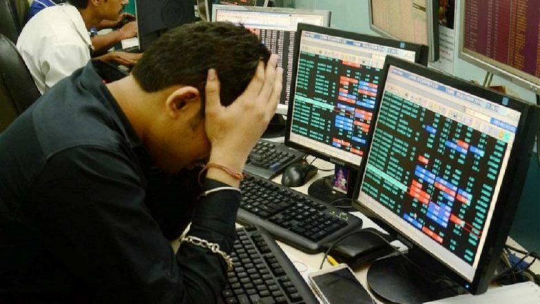 Sensex, Nifty Trade Lower As Crude Oil Price Crosses USD 60 per Barrel Mark
