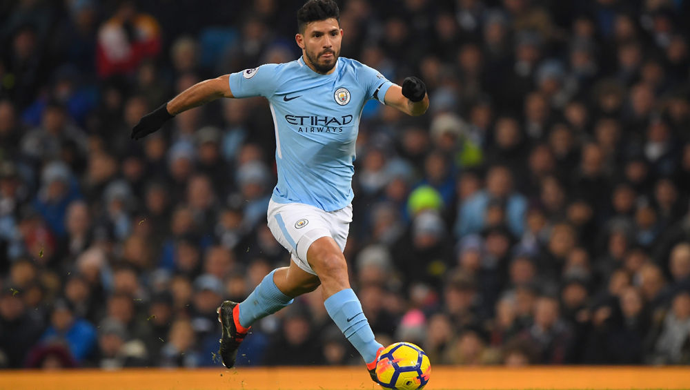 Sergio Aguero Ruled Out From Derby Against Manchester United Due to Thigh Injury, Says Pep Guardiola