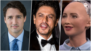 Shah Rukh Khan is a True Global Icon: John Cena, Humanoid Robot Sophia to Justin Trudeau, All in Awe of SRK