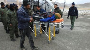 Pregnant Woman in Ladakh Evacuated by Siachen Pioneers Amid Bad Weather