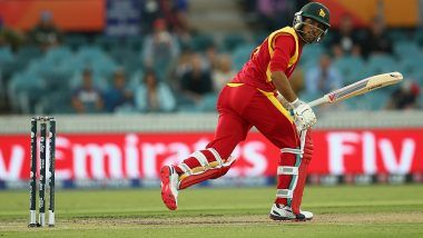 Zimbabwe vs Afghanistan 2018: All-rounder Sikandar Raza Fined for Showing Dissent