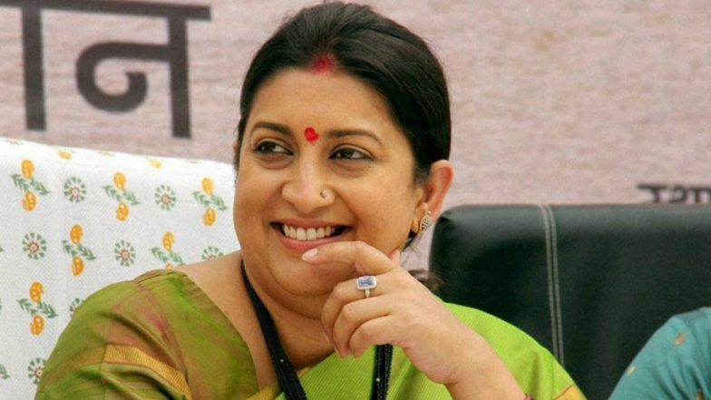 Smriti Irani Sends 10,000 Sarees as 'Gift' to Women Workers of BJP in Rahul Gandhi's Constituency Amethi