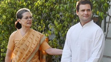 Lok Sabha Elections 2019: Congress Releases First List of 15 Candidates From Seats in UP and Gujarat, Sonia Gandhi, Rahul to Contest From RaeBareli and Amethi; Here's Full List