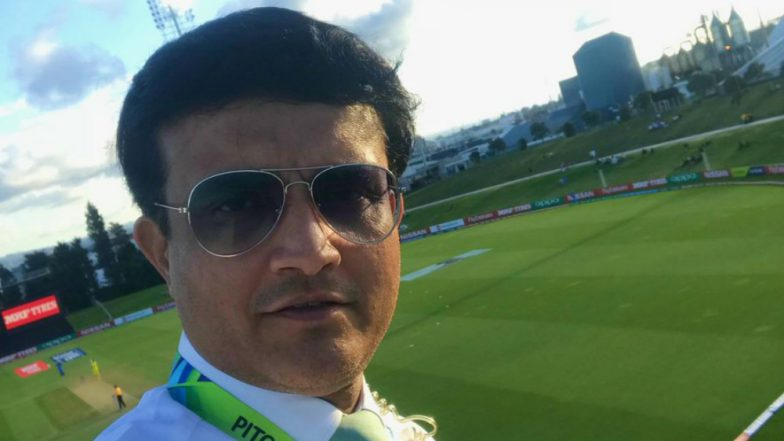Sourav Ganguly Visits Barcelona to Watch Lionel Messi in Action at La Liga 2018-19; Gets Special Jersey With 'Dada' Written Behind