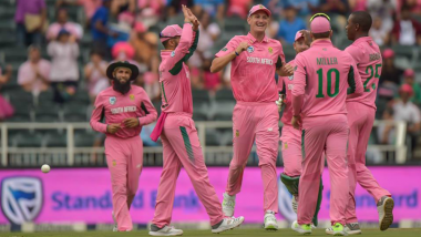 India vs South Africa 4th ODI 2018 Video Highlights: SA Beat IND by 5 Wickets, Maintain Unbeaten Record in Pink