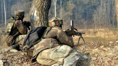 Jammu And Kashmir: Encounter Breaks Out in Baramulla District Between Security Forces And Terrorists; No Casualties Reported