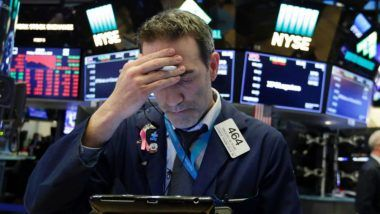 Asian Shares Fall After Wall Street Plunge, China's Stock Market Witness Sharp Fall