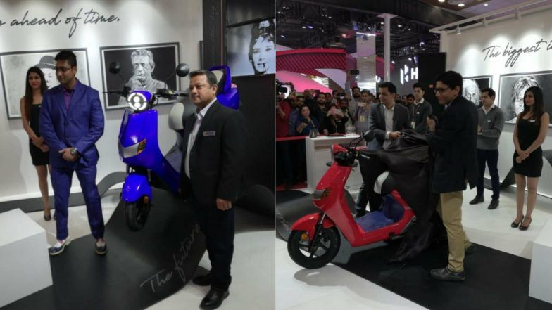 Auto Expo 2018: Twenty Two Motors Rolls Out New Electric Scooter Flow