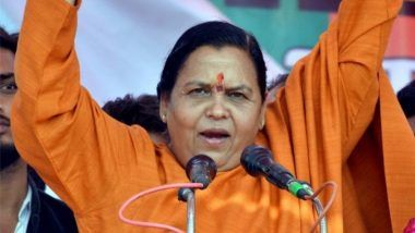Uma Bharti: 'BJP Doesn't Have a Patent on Ram Temple, Lord Ram is For All'