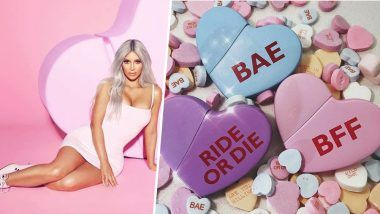 Valentine's Day Gift From Kim Kardashian West: Social Media Star Presents Her New Fragrance From Lovers to Haters