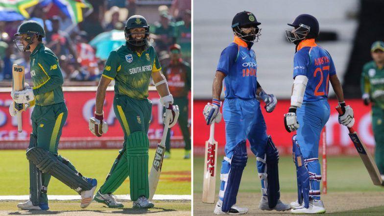 india vs south africa second odi match 2018 virat kohli ajinkya