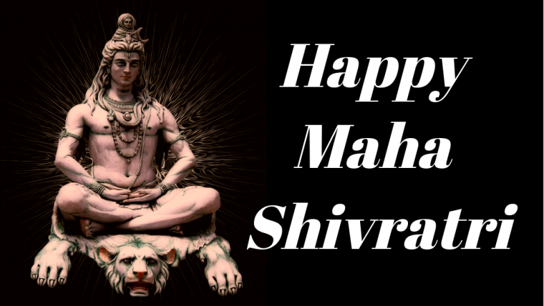 Maha Shivaratri 2018 Wishes: Best WhatsApp Messages, Facebook Quotes, GIF Images of Lord Shiva & SMSes to Send Happy Mahashivratri Greetings!