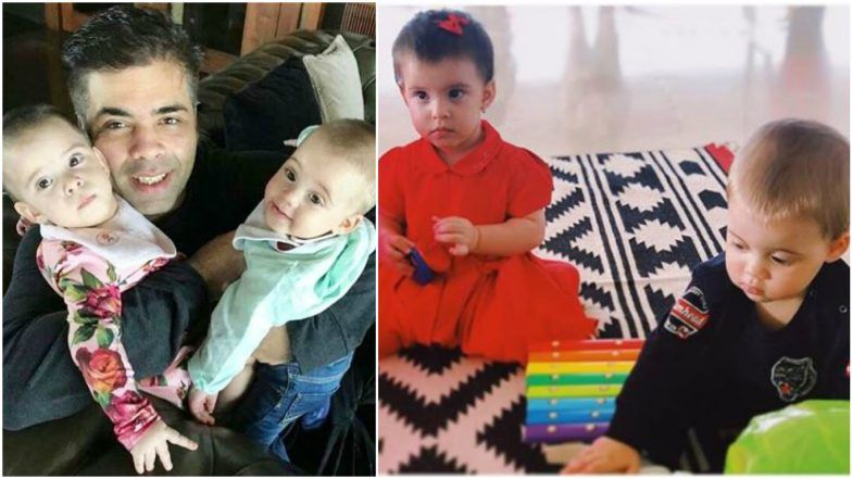 Karan Johar's Twins Yash and Roohi's First Birthday Bash: Taimur Ali Khan, AbRam & Other Star Kids in Attendance