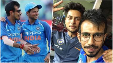 Team India's 'KulCha' aka Kuldeep Yadav and Yuzvendra Chahal Post Cutest Happy Valentine's Day Wish for Fans