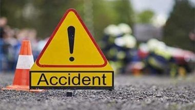 Delhi Road Accident: Speeding Honda City Rams Into Electric Pole in Vivek Vihar, 2 Killed
