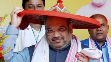 Amit Shah Sets Sight on NorthEast: BJP President Targets to Win 21 out of 25 Seats in Lok Sabha Elections 2019