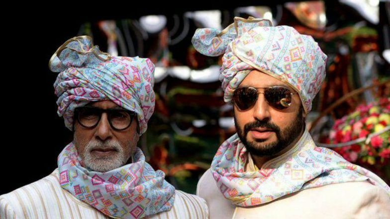 Amitabh Bachchan Thinks Son Abhishek Bachchan Looks Like a Sauce in This Throwback Picture and We Are Still Trying to Make Sense Out of It - View Pic Inside