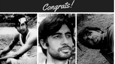 Amitabh Bachchan Completes 49 Years in Bollywood! Big B Shares Nostalgic Pictures of First Film on Twitter