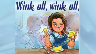 Priya Prakash Varrier's Wink Attracts Amul's Attention, Company Makes a Buttery Ad on Her Picture