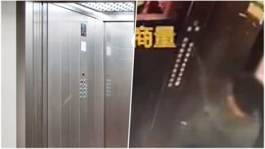 Naughty Kid Urinates on Lift Buttons, Gets Stuck: Ministry of Public Security in China Ask Parents to Educate Children