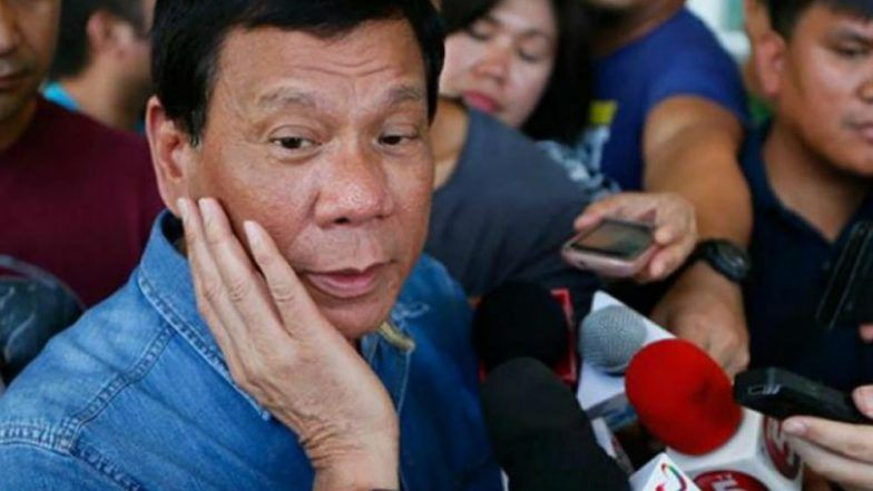 Philippines: Rodrigo Duterte orders soldiers to shoot female rebels 'in the vagina'
