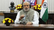 PM Narendra Modi Calls For Ideas for July 26 'Mann Ki Baat' Radio Programme, Asks Citizens to Record Message on 1800-11-7800 or Write on MyGov or NaMo App